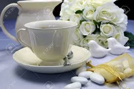 Fine Dining Table Set Up by Close Up Of Detail On Wedding Breakfast Dining Table Setting