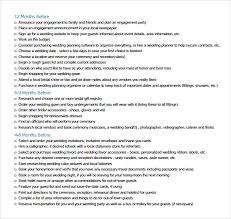 complete wedding checklist sle wedding planning checklist 6 documents in pdf word