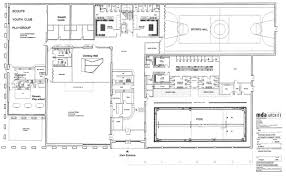 architectures magnificent swimming pool house home floor plan