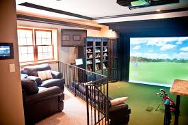 delightful basement game room ideas with projector tv