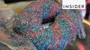where to buy edible glitter edible glitter rainbow bagels