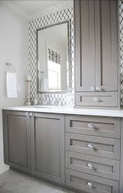 Best  Grey Bathroom Cabinets Ideas On Pinterest Grey Bathroom - White cabinets for bathroom