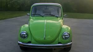 green volkswagen beetle convertible 1974 volkswagen beetle convertible w73 indy 2016