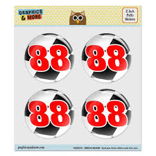 Flag Emoticons Number 88 Checkered Flag Racing Puffy Bubble Dome Scrapbooking