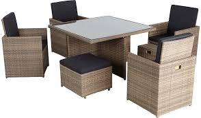 Asda Direct Armchairs Borneo 9 Piece Cube Dining Set Home U0026 Garden George At Asda