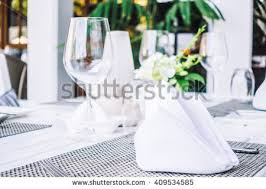 Wine Glass Flower Vase Selective Focus Point On Wine Glass Stock Photo 438545569