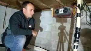 crawl space exhaust fan tjernlund v2d crawl space ventilator youtube