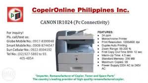 Toner Canon Ir 1024 canon ir1024 digital copier quezon city