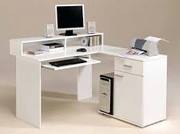 desk computer desk with raised monitor shelf diy stand up desk