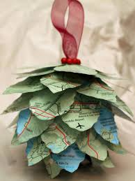 decorations handmade christmas ornaments also music paper ball