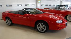 1999 chevrolet camaro z28 ss convertible stock 128498 for sale