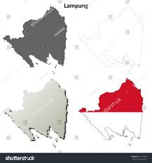Blank Map Of Dominican Republic by Lampung Blank Outline Map Set Stock Vector 233175940 Shutterstock