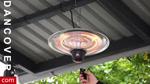 halogen patio heaters cosylifestyle hanging patio heater with a remote control from