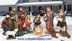 site large scale indoor outdoor nativity sets and yard