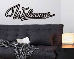 welcome home family quote wall stickers family welcome quote wall welcome home family quote wall stickers family welcome quote wall decal decorating diy home custom colors quote wall decal q171 in wall stickers from home