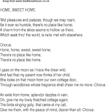 sweet home theater old time song lyrics for 25 home sweet home