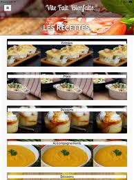 cuisine vite fait vite fait bienfaits on the app store