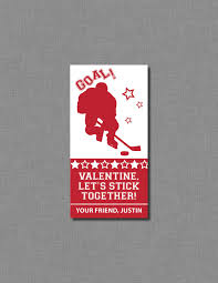 hockey valentines cards paper earrings fashion