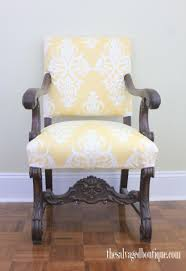 Damask Chair Damask Pattern Upholstered Armchair The Queen Bee Chair The