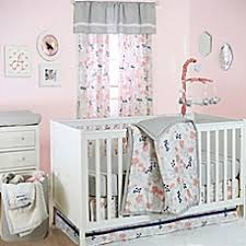 Floral Crib Bedding Sets The Peanut Shell Floral Crib Bedding Collection In Coral Bed