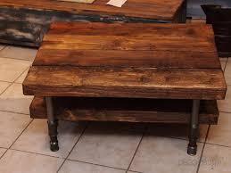 Table De Salon Industrielle by Table Basse Industrielle Bois Tuyaux Par Volp U0027art