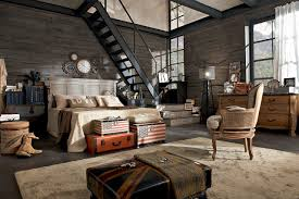 country vintage industrial loft urban shabby chic decor