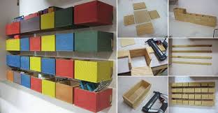 Make Your Own Toy Chest by Make Your Own Hardware Storage Bins Usefuldiy Com
