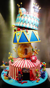 395 best circus carnival cakes images on pinterest carnival