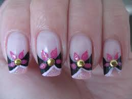 nail art abstract flower design youtube