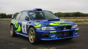 subaru rally colin mcrae u0027s iconic wrc subaru for sale motoring research