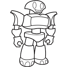 robot boy colouring pages coloring clip art library