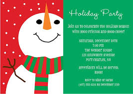 christmas party invitations snowman christmas party invitations