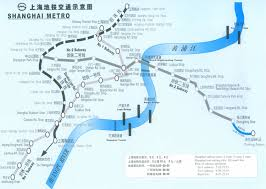 China Train Map by Shanghai Traffic Maps Metro Map Airlines Toute Chart Map Maglev