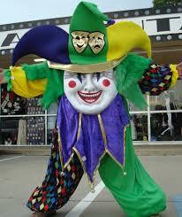 mardi gras jester costume mardi gras mascot costume dallas vintage and costume shop