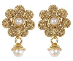 jhumki style earrings indian traditional small jhumki style earrings for women