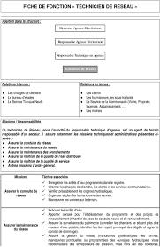 employ de bureau fiche m tier fiche de fonction releveur de compteurs pdf