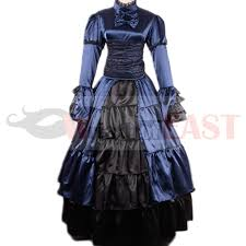 Victorian Dress Halloween Costume Aliexpress Buy Victorian Gothic Dress Civil War Costume