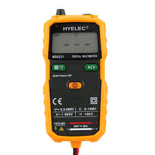 hyelec ms8231 portable mini auto digital multimeter ac dc sales