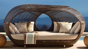 Outdoor Canopy Daybed Make Outdoor Living Comfy With 15 Rattan Daybeds Home Design Lover