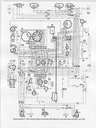 wiring diagram of 1976 mini clubman saloon and estate u2013 circuit