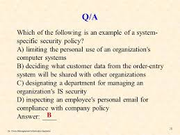 chapter 12 information security management ppt video online download
