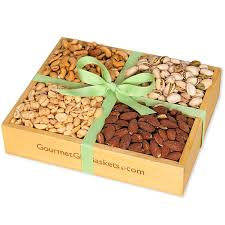 nuts gift basket roasted nuts gift crate by gourmetgiftbaskets