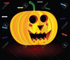 halloween pumpkin scary pumpkin illustration pumpkin vector