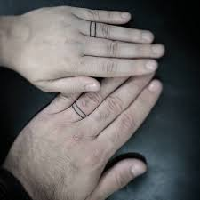 Wedding Ring Tattoo Ideas 50 Powerful Matching Tattoos To Share With Someone You Love