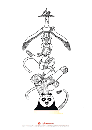 kung fu panda coloring pages coloring for kids coloriage kung