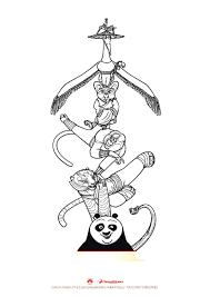 kung fu panda 3 kung fu panda coloring pages coloring for kids