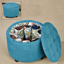 blue shoe storage ottoman ideas u2013 home improvement 2017 original