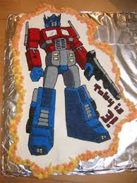 optimus prime cakes optimus prime cupcake cake and megatron pinata occasions and holidays