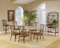 Diamond Furniture Bedroom Sets by Brookside 7pc Rectangle Set W Diamond Chairs