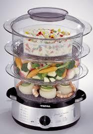 cuisine tefal tefal 616119 steam cuisine 3 tier steamer reviews steamers